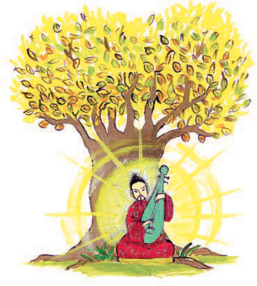 illustration arbre ghylenn descamps nantes